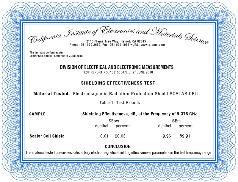 certificate-award-best-emf-protection-ciems-quanthor